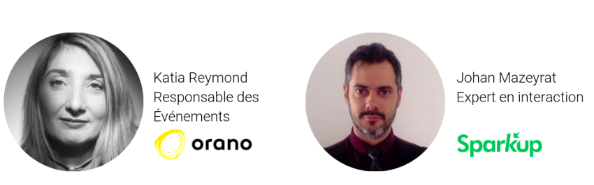 Intervants au webinar Orano/Sparkup